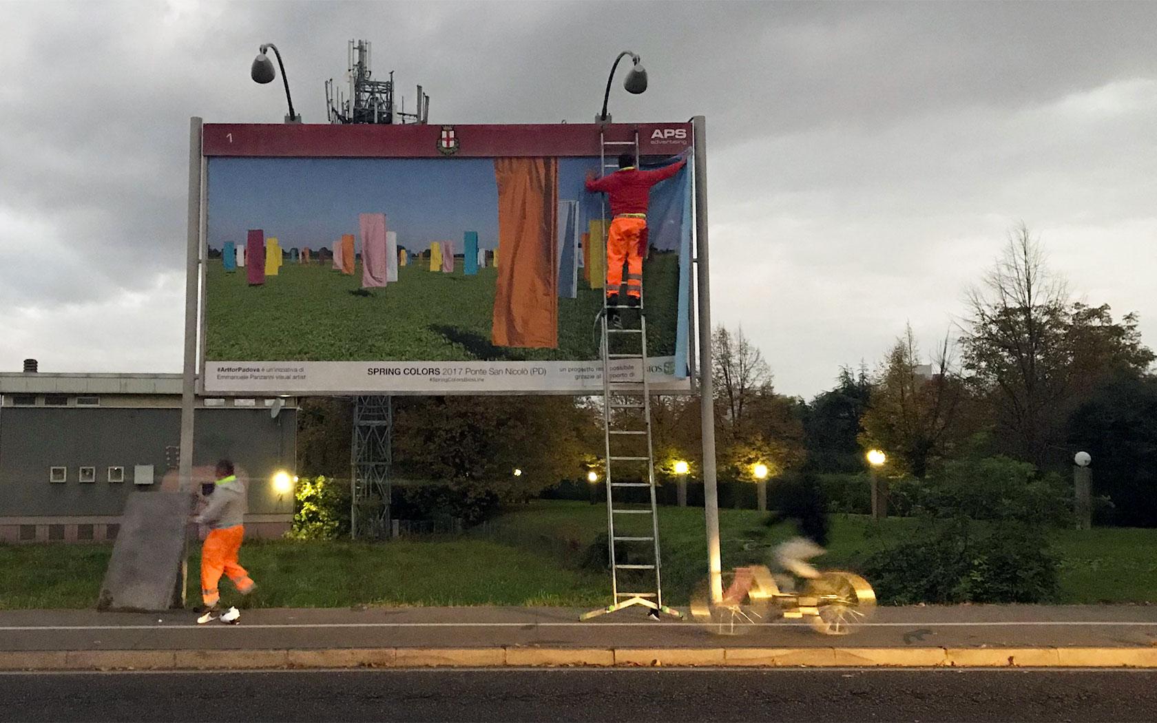 #ArtforPadova – opera Spring Color