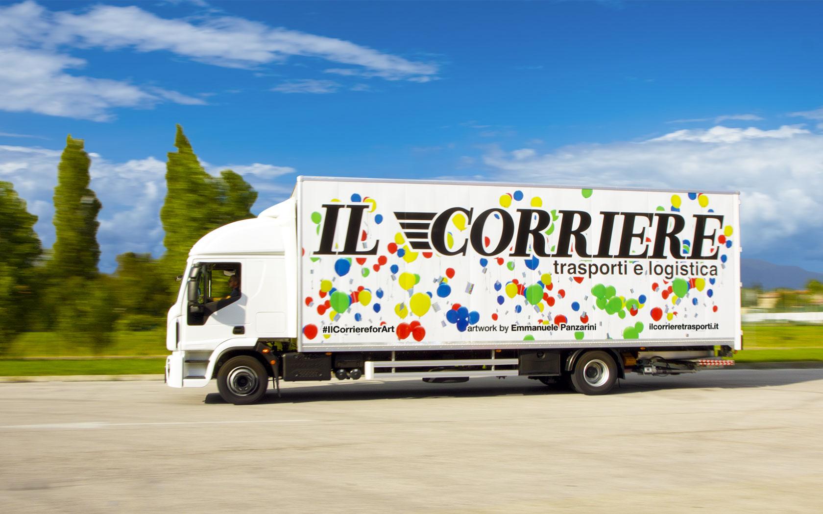 #IlCorriereforArt – opera Balloon Messages