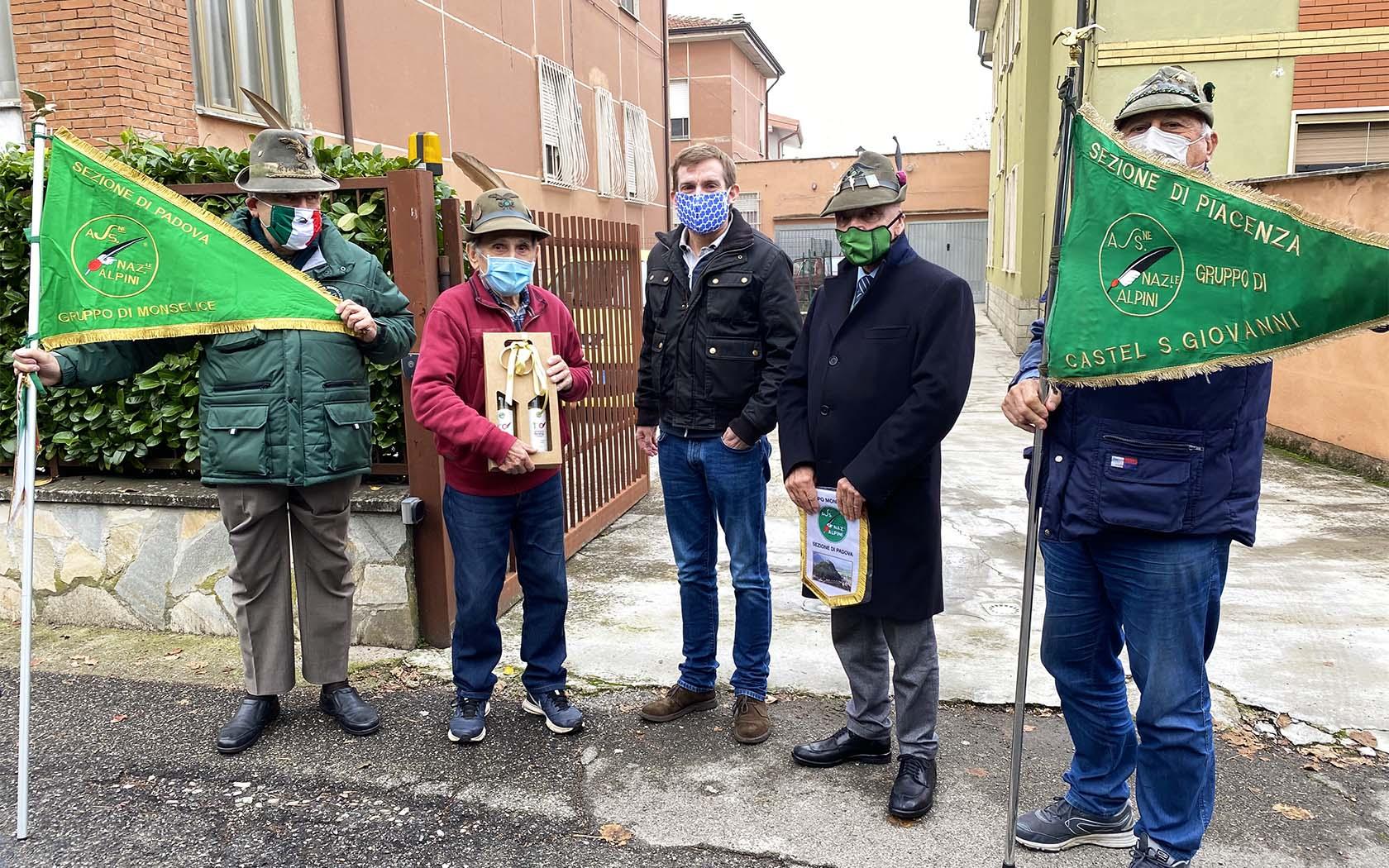 Centenario Alpini Padova – omaggio